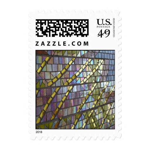 Rainbow Mosaic  Stamp