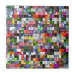 Rainbow Mosaic Tile