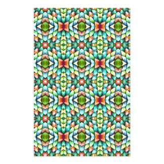 Rainbow Mosaic Tiles Stones Stationery