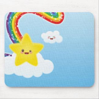 Rainbow Mouse Pad