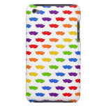 Rainbow Moustaches iPod Case-Mate Cases