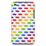 Rainbow Moustaches iPod Case-Mate Cases