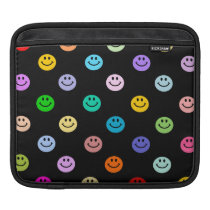 Rainbow Multicolor Face Pattern Sleeve For iPads