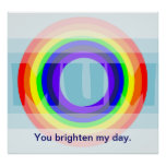 Rainbow Mum Posters
