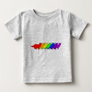 Rainbow Munchkin Baby T-Shirt