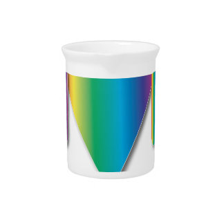 Rainbow Muscle Man Drink Pitchers