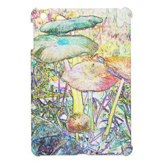 Rainbow Mushrooms iPad Mini Case