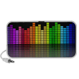 Rainbow Music Equalizer - Feel the Beat! Portable Speaker