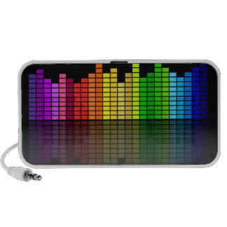 Rainbow Music Equalizer - Feel the Beat! Speaker