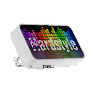 Rainbow Music Equalizer with custom Text Speaker