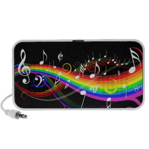 Rainbow Music Mp3 Speakers