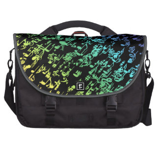 Rainbow Music Notes Commuter Bag