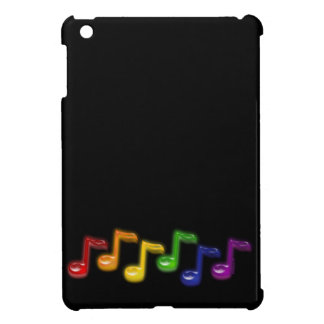 Rainbow Music Notes iPad Mini Case