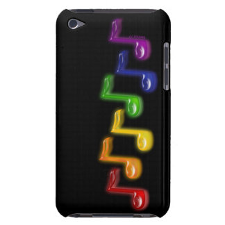 Rainbow Music Notes iPod Case