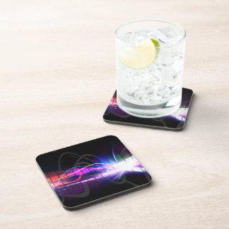 Rainbow Musical Wave Form Drink Coaster