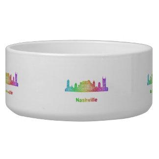 Rainbow Nashville skyline Bowl