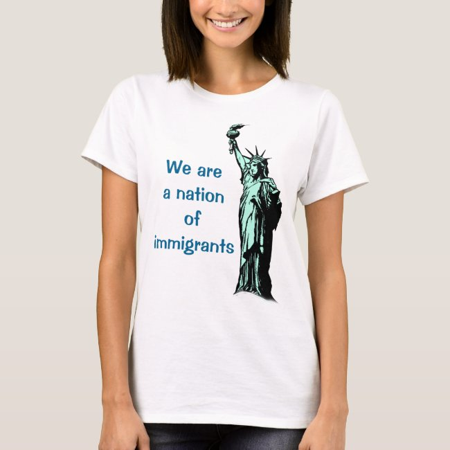 Rainbow Nation of Immigrants Shirt
