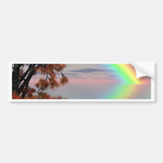 Rainbow Nature Bumper Stickers