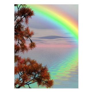 Rainbow Nature Postcard