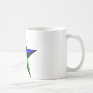 Rainbow Nautical Star Coffee Mug