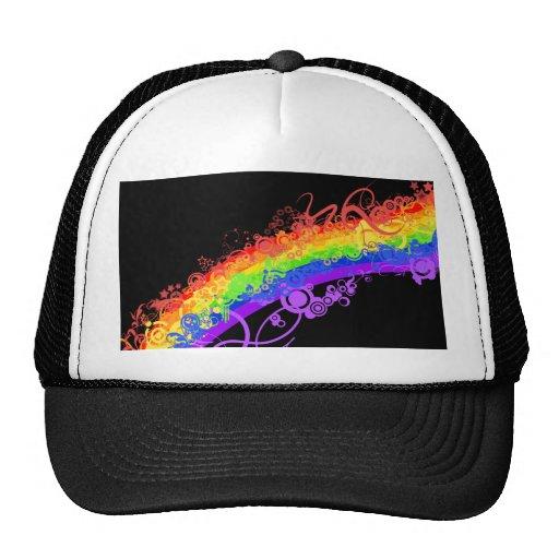 Rainbow Nebula Vector Rainbow Hats