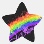 Rainbow Nebula Vector Rainbow Stickers