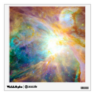 Rainbow Nebula Room Sticker