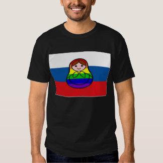 Rainbow Nesting Doll shirt