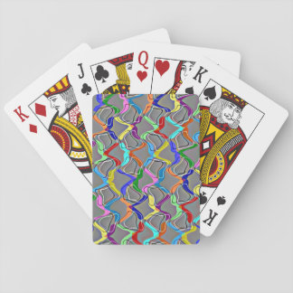 Rainbow Net Playing Cards
