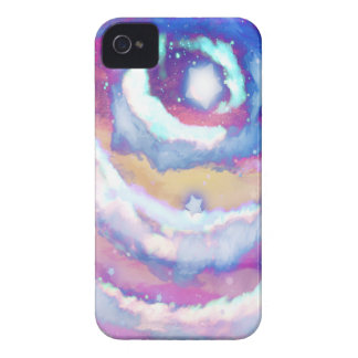 Rainbow Night Sky Blackberry Case