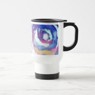 Rainbow Night Sky Travel Mug Coffee Mugs