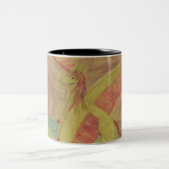 Rainbow Nighttime Mug