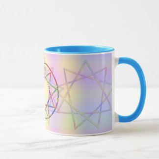Rainbow Nonogram Drinkware Mug