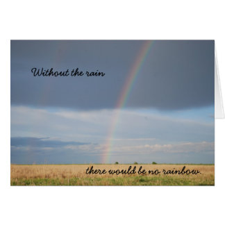 Rainbow Note Card