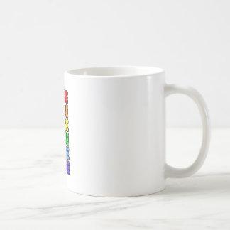 Rainbow Nurse Coffee Mug