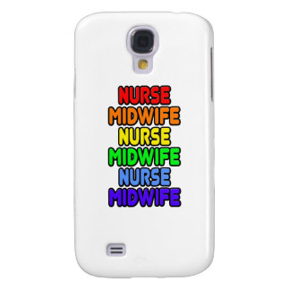 Rainbow Nurse Midwife Samsung Galaxy S4 Case