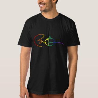 Rainbow Obama Autograph - LGBT Politics - T-Shirt