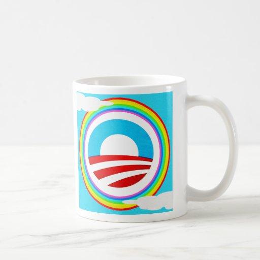 Rainbow Obama Marriage Equality Designs Coffee Mug