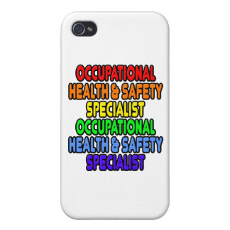 Rainbow Occupational Health Safety Specialist Cover For iPhone 4