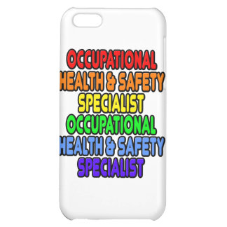 Rainbow Occupational Health Safety Specialist Cover For iPhone 5C