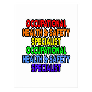 Rainbow Occupational Health Safety Specialist Postcard