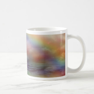 Rainbow Ocean Art Mug