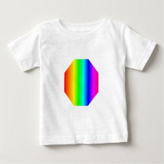Rainbow Octagon Baby T-Shirt