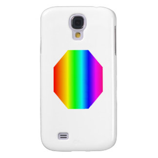 Rainbow Octagon Samsung Galaxy S4 Cases