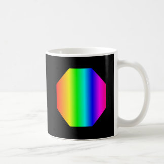 Rainbow Octagon Coffee Mug
