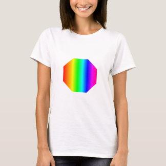 Rainbow Octagon T-Shirt