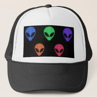 Rainbow of ALIENS hat. Trucker Hat