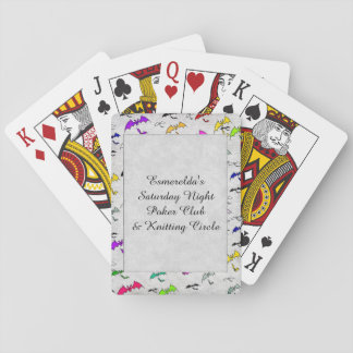 Rainbow Of Bats Deck Of Cards