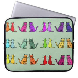 Rainbow Of Cats Laptop Computer Sleeves