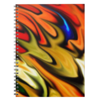 Rainbow of Color Spiral Notebook